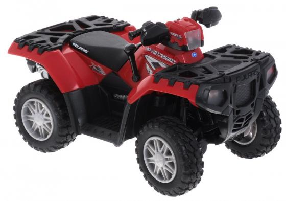 Квадроцикл Tomy Polaris ATV 1:16 красный цена