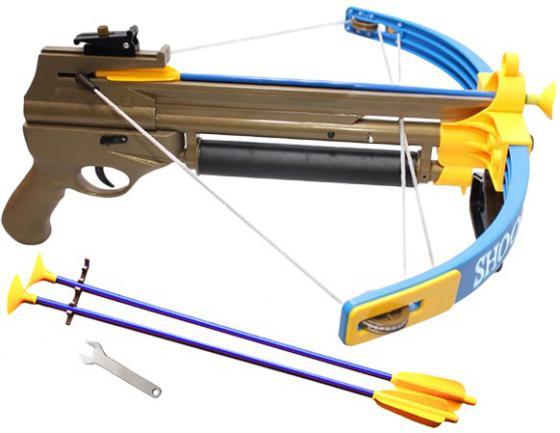 Арбалет S+S Toys со световыми эффектами коричневый СС75478 s s toys 80083ear военный внедорожник