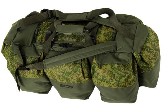 Сумка-рюкзак Универсальная Solaris Экспедиционная ПВХ оливковый S5205