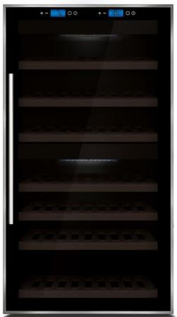 Винный шкаф CASO WineMaster Touch 66 черный винный шкаф до 140 см caso winemaster touch 38 2d