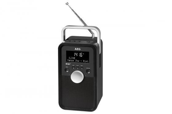 Радиоприемник AEG DR 4149 черный DAB+ aeg mr 4139 bt schwarz bluetooth радиоприемник