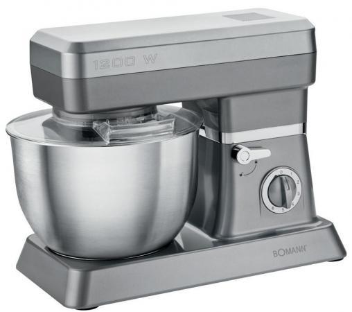 цена на Кухонный комбайн Bomann KM 398 CB серебристый