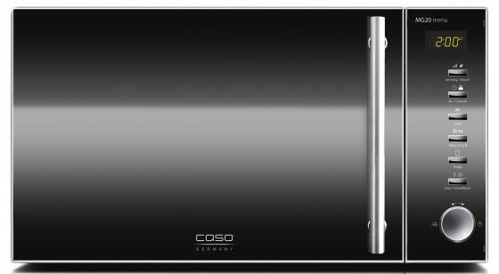 Микроволновая печь CASO MG 20 Menu 800 Вт чёрный микроволновая печь caso m 20