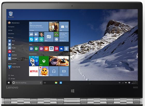 Ультрабук Lenovo IdeaPad Yoga 900s-12 12.5 2560x1440 Intel Core M7-6Y75 SSD 256 8Gb Intel HD Graphics 515 серебристый Windows 10 Professional 80ML005ERK generic lid bottom case cover base enclosure for ibm lenovo ideapad yoga 13 13 3 series new notebook replacement accessories p n 73041038