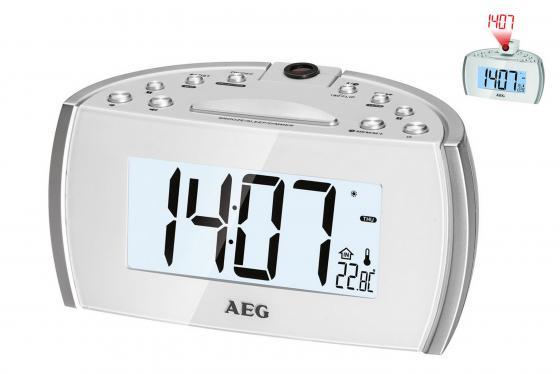 Часы с радиоприёмником AEG MRC 4119 P цена и фото
