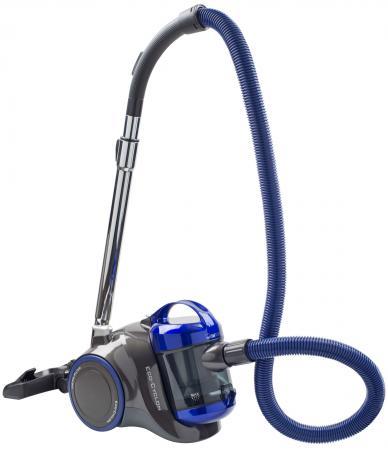 Пылесос Clatronic BS 1304 сухая уборка чёрный синий