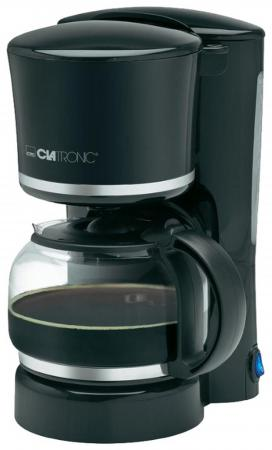 Кофеварка Clatronic KA 3555 870 Вт черный кофеварка clatronic ka 3555 weiss silber