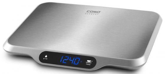 Весы кухонные CASO L 15 3292 серебристый caso l 20 white кухонные весы