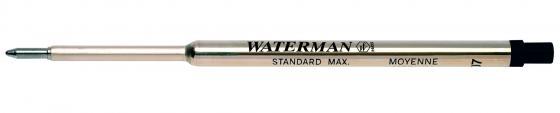 Стержень шариковый Waterman Refill BP Standard Maxima черный F 1964017 ручка waterman s0952360