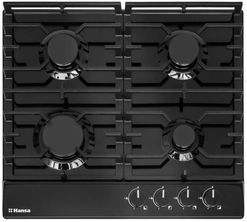 Варочная панель газовая Hansa BHGS63030 черный цена