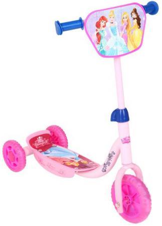 Самокат трехколёсный Disney Принцессы розовый самокат трехколёсный disney тачки красный