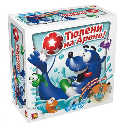 Настольная игра развивающая Asmodee Тюлени на арене JАСТ08Ru настольная игра asmodee таймлайн избранное