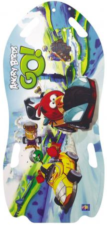 Ледянка 1toy Angry Birds для двоих до 150 кг ПВХ голубой Т57214