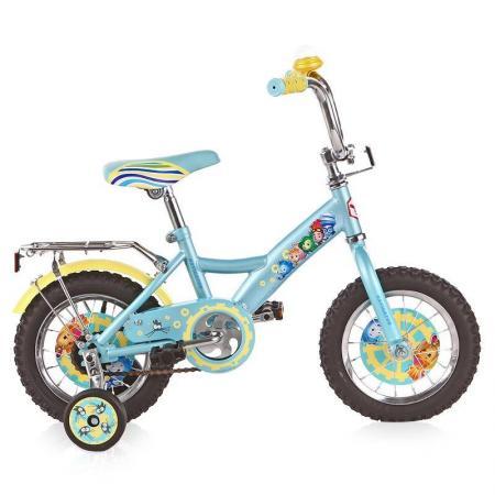 Велосипед двухколёсный Navigator Фиксики 12 голубой велосипед двухколёсный navigator миньоны 18 желтый вн18074