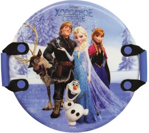 все цены на Ледянка 1Toy Disney: Холодное сердце до 150 кг пластик рисунок Т57259 круглая онлайн