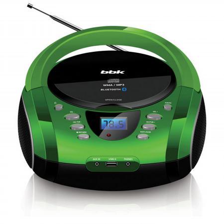 Купить Магнитола BBK BX165BT черный зеленый