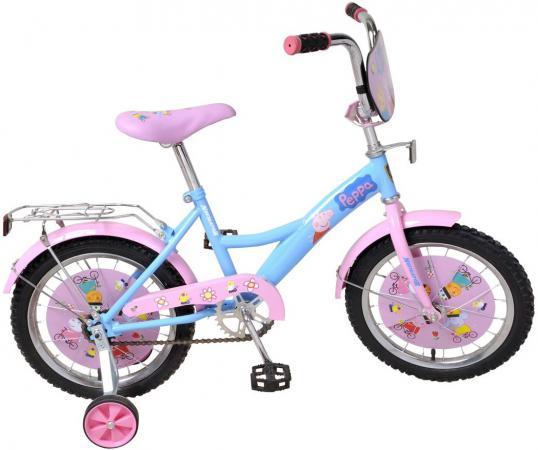 Велосипед двухколёсный Navigator Peppa Pig 16 розовый ВН16093 navigator велосипед двухколесный peppa pig