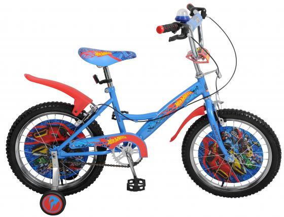 """Велосипед двухколёсный Навигатор Hot Wheels 18"""" голубой ВН18078"""