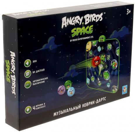 Интерактивная игрушка 1Toy Angry Birds спейс от 3 лет синий интерактивная игра свинка с 3 птичками angry birds