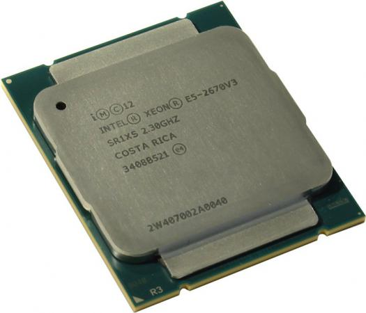 Процессор Dell Intel Xeon E5-2670v3 2.5GHz 25Mb 338-BFCI процессор dell xeon e5 2670 v3