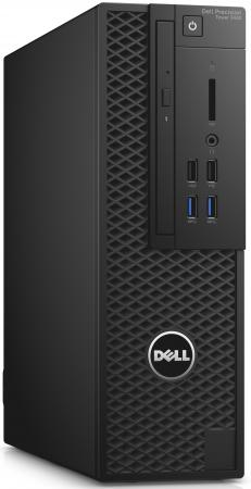 Системный блок DELL Precision T3420 i5-6500 3.2GHz 8Gb 1Tb HD530 DVD-RW Linux клавиатура мышь черный 3420-9488