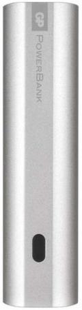 Внешний аккумулятор GP Portable PowerBank FN03M 3000mAh серебристый зарядное устройство и аккумулятор gp powerbank pb420gs130 1300mah aa 4шт