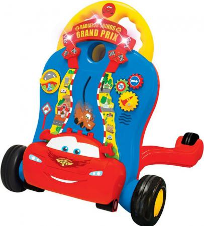 Каталка-ходунок Kiddieland Молния Маккуин пластик от 9 месяцев музыкальная разноцветный KID 051128 каталка ходунок coloma trimarc разноцветный от 18 месяцев пластик