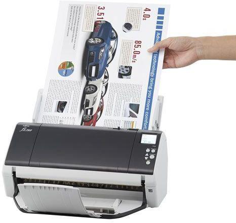 цена на Сканер Fujitsu fi-7480 протяжный А3 600x600 dpi CCD 160ppm USB PA03710-B001