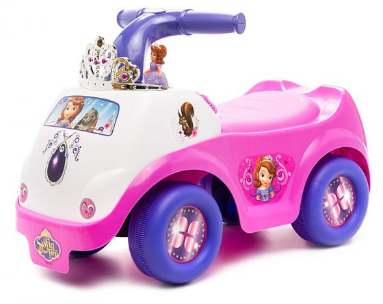 Каталка-пушкар Kiddieland Принцесса София пластик от 18 месяцев музыкальная розовый каталка kiddieland танцующая принцесса
