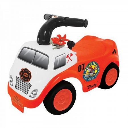 Каталка-пушкар Kiddieland Дасти пластик от 1 года музыкальная оранжевый 052613 машинка каталка kiddieland дасти kid 052613