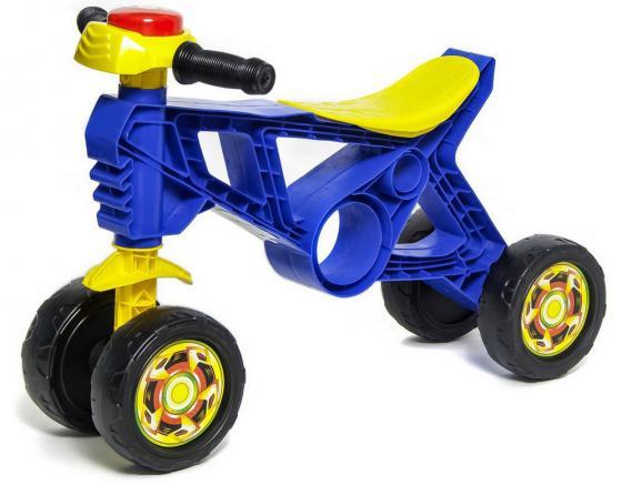 Каталка-беговел четырёхколёсный RT Самоделкин синий ОР188 rt rt беговел каталка самоделкин красный