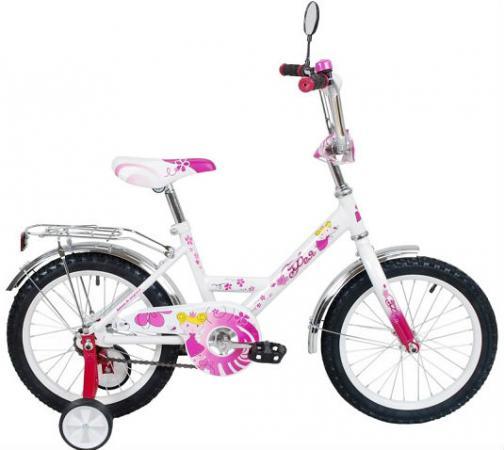 """Велосипед двухколёсный RT Black Aqua Фея 12"""" розовый ВА-1225"""
