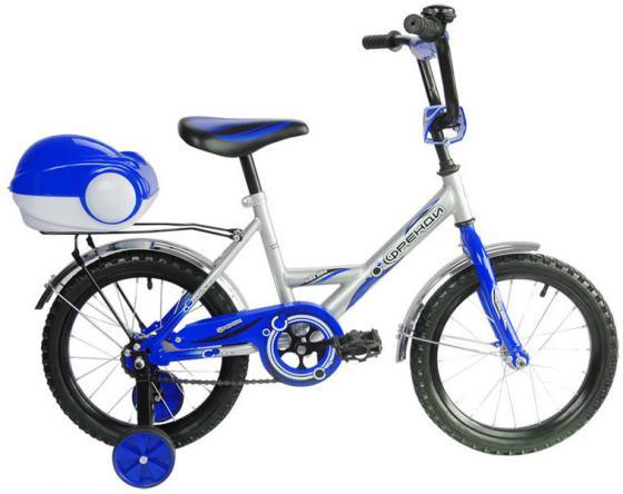 Велосипед двухколёсный RT Мультяшка Френди 1601 16 синий XB1601 велосипед royal baby butterfly 12 синий двухколёсный