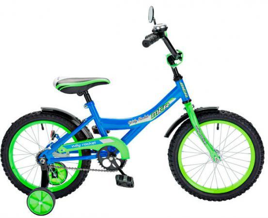 """Велосипед двухколёсный RT BA Wily Rocket 12"""" синий KG1208"""