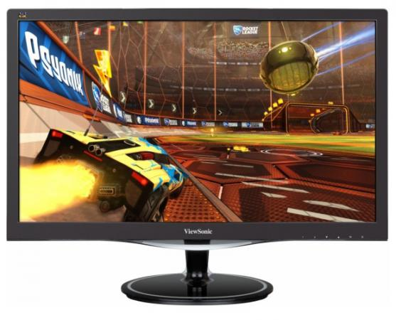 Монитор 22 ViewSonic VX2257-MHD черный TN 1920x1080 300 cd/m^2 1 ms HDMI DisplayPort VGA Аудио видеорегистратор intego vx 410mr