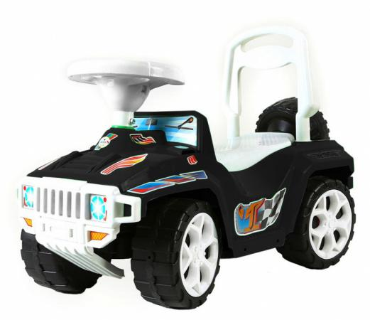 Каталка-машинка Rich Toys Race Mini Formula 1 пластик от 10 месяцев с ручкой черный ОР419 rt ор856 каталка с родительской ручкой race mini formula 1 цвет розовый