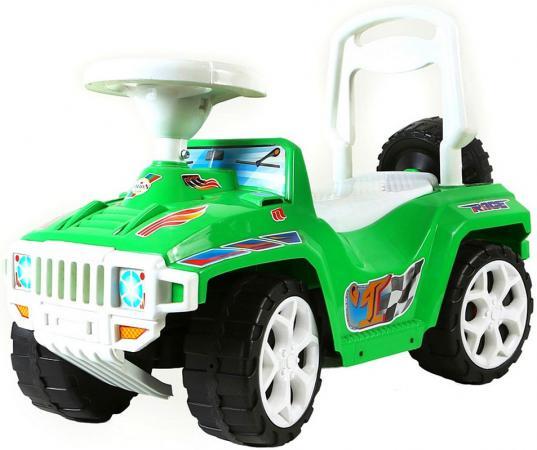 Каталка-машинка Rich Toys Race Mini Formula 1 пластик от 10 месяцев зеленый ОР419 каталка rich toys гоночный спорткар super sport 1 пластик от 10 месяцев черно красный ор894