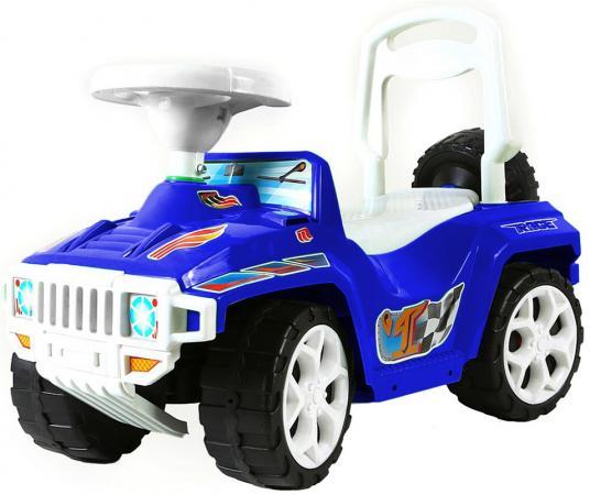 Каталка-машинка R-Toys Race Mini Formula 1 пластик от 10 месяцев синий ОР419 каталка машинка r toys bentley пластик от 1 года музыкальная красный 326
