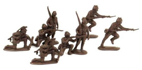 """Набор фигурок Биплант Солдатики """"Японская пехота"""" 6.5 см 12018 цены"""