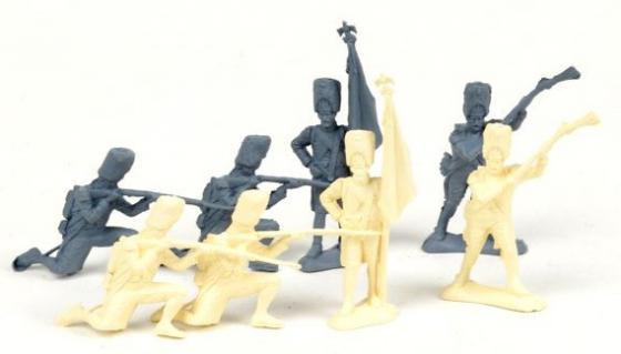 Набор фигурок Биплант Солдатики Армия 1812 года 6.5 см 12022 glavnye provaly 2016 goda