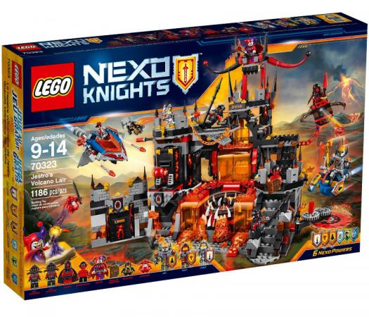Конструктор Lego Nexo Логово Джестро 1188 элементов 70323 конструктор lego nexo логово джестро 1188 элементов 70323