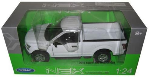 Автомобиль Welly Ford F-150 1:24 24063 автомобиль welly audi r8 v10 1 24 белый 24065