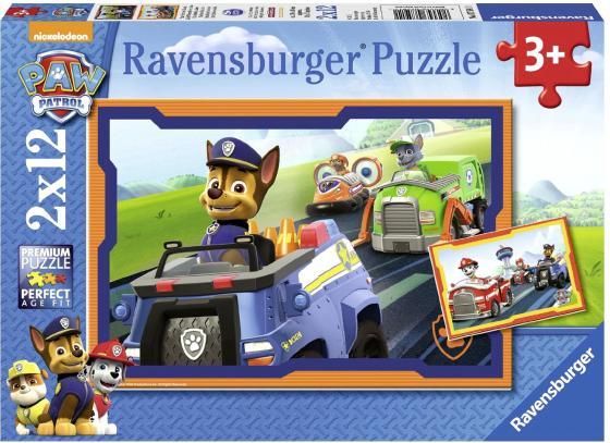 Пазл 24 элемента Ravensburger Щенячий патруль в действии