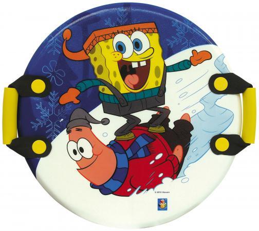 Ледянка 1Toy Губка Боб пластик рисунок Т57201 круглая спортивные игровые наборы 1toy набор для бокса губка боб