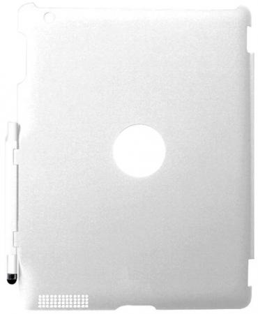 цена на Накладка Promate SmartShell.1 для iPad 2 белый