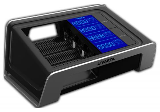 Зарядное устройство + аккумуляторы 2400 mAh Varta LCD Fast Charger AA/AAA 4 шт зарядное устройство samsung pleomax 1016 4hr6 2300 mah aa aaa 26203