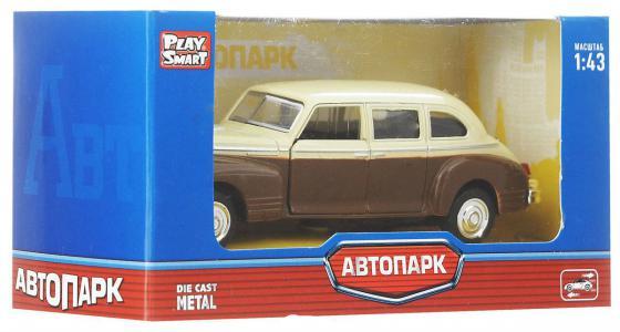 Инерционная металлическая машинка Play Smart Автопарк Зис-110 Р41144 инерционная металлическая машинка play smart автопарк зис 110 р41141