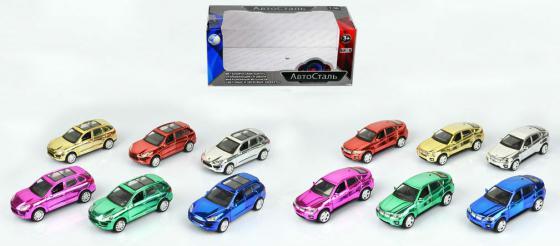 Инерционная металлическая  игрушка Tongde Автосталь в ассортименте свет звук  1х36   В72460