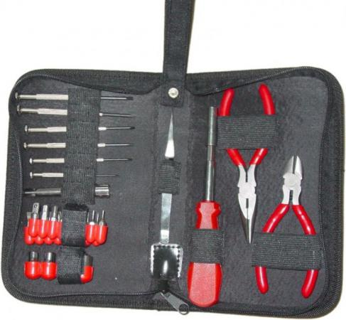 Набор инструментов Gembird TK-HOBBY / TK-HOBBY-C 31 предмет набор инструментов gembird cablexpert tk solder