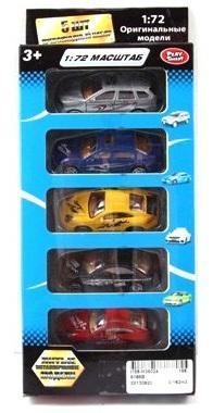 Набор Play Smart Р41289 1:72 разноцветный play doh игровой набор магазинчик домашних питомцев
